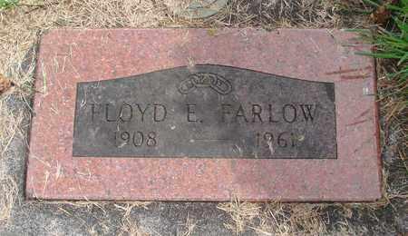 FARLOW, FLOYD E - Linn County, Oregon | FLOYD E FARLOW - Oregon Gravestone Photos