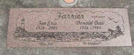 FARRIER, DONALD DALE - Linn County, Oregon | DONALD DALE FARRIER - Oregon Gravestone Photos