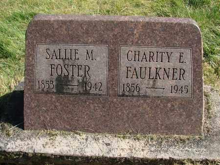 FOSTER FAULKNER, CHARITY ELIZABETH - Linn County, Oregon | CHARITY ELIZABETH FOSTER FAULKNER - Oregon Gravestone Photos