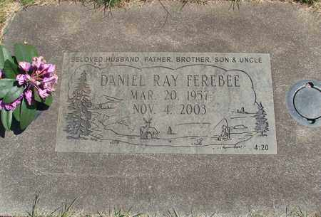 FEREBEE, DANIEL RAY - Linn County, Oregon   DANIEL RAY FEREBEE - Oregon Gravestone Photos