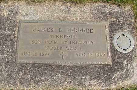 FEREBEE, JAMES B - Linn County, Oregon   JAMES B FEREBEE - Oregon Gravestone Photos