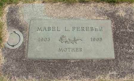 FEREBEE, MABEL L - Linn County, Oregon | MABEL L FEREBEE - Oregon Gravestone Photos