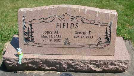FIELDS, GEORGE D - Linn County, Oregon   GEORGE D FIELDS - Oregon Gravestone Photos