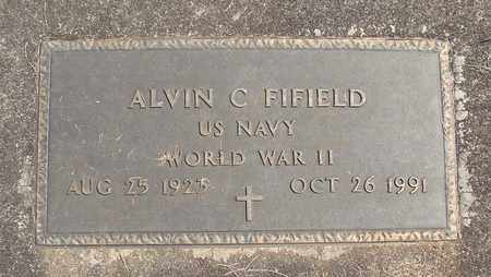 FIFIELD, ALVIN CHARLES - Linn County, Oregon | ALVIN CHARLES FIFIELD - Oregon Gravestone Photos