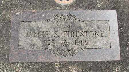 FIRESTONE, JAMES SAMUEL - Linn County, Oregon | JAMES SAMUEL FIRESTONE - Oregon Gravestone Photos