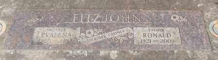 FITZJOHN, JAMES RONALD - Linn County, Oregon | JAMES RONALD FITZJOHN - Oregon Gravestone Photos