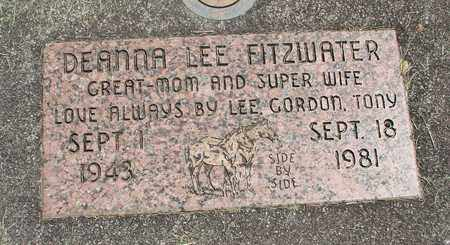 FITZWATER, DEANNA LEE - Linn County, Oregon | DEANNA LEE FITZWATER - Oregon Gravestone Photos