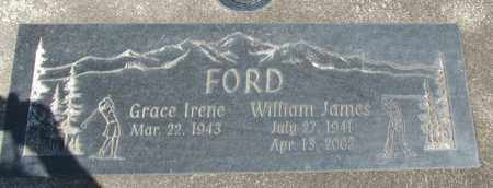 FORD, WILLIAM JAMES - Linn County, Oregon | WILLIAM JAMES FORD - Oregon Gravestone Photos