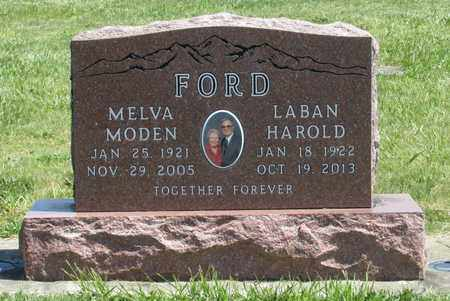 MODEN FORD, MELVA NINA - Linn County, Oregon | MELVA NINA MODEN FORD - Oregon Gravestone Photos