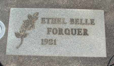 FORQUER, ETHEL BELLE - Linn County, Oregon | ETHEL BELLE FORQUER - Oregon Gravestone Photos