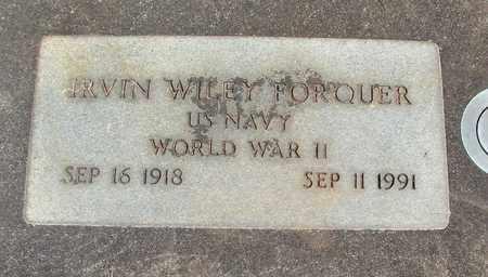 FORQUER, IRVIN WILEY - Linn County, Oregon | IRVIN WILEY FORQUER - Oregon Gravestone Photos