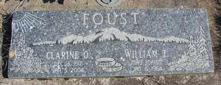 FOUST, WILLIAM T - Linn County, Oregon | WILLIAM T FOUST - Oregon Gravestone Photos
