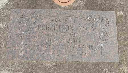 ROBERTSON FOX, ARVIE O - Linn County, Oregon | ARVIE O ROBERTSON FOX - Oregon Gravestone Photos