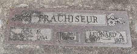 STORY FRACHISEUR, OLA MATTIE - Linn County, Oregon | OLA MATTIE STORY FRACHISEUR - Oregon Gravestone Photos