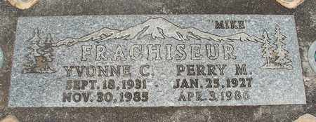 FRACHISEUR, PERRY MITCHELL - Linn County, Oregon | PERRY MITCHELL FRACHISEUR - Oregon Gravestone Photos