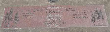 FRALEY, COLE E - Linn County, Oregon | COLE E FRALEY - Oregon Gravestone Photos