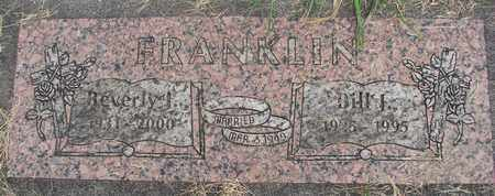FRANKLIN, BEVERLY J - Linn County, Oregon | BEVERLY J FRANKLIN - Oregon Gravestone Photos