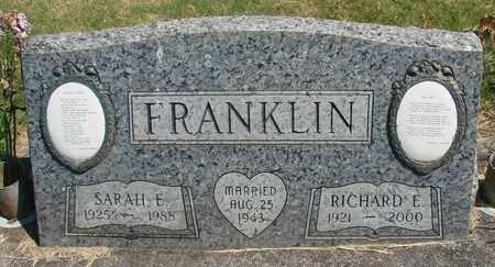 FRANKLIN, RICHARD E - Linn County, Oregon   RICHARD E FRANKLIN - Oregon Gravestone Photos