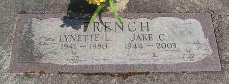FRENCH, JAKE C - Linn County, Oregon | JAKE C FRENCH - Oregon Gravestone Photos