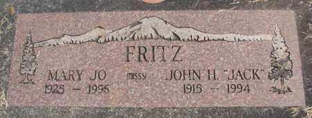 FRITZ, MARY JOSEPHINE - Linn County, Oregon | MARY JOSEPHINE FRITZ - Oregon Gravestone Photos