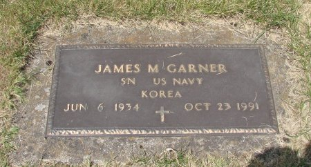 GARNER, JAMES MELVIN - Linn County, Oregon | JAMES MELVIN GARNER - Oregon Gravestone Photos
