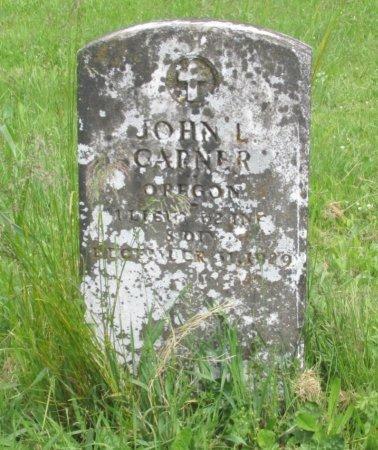 GARNER, JOHN LUCIUS - Linn County, Oregon | JOHN LUCIUS GARNER - Oregon Gravestone Photos