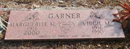 GARNER, MARGUERITE M - Linn County, Oregon | MARGUERITE M GARNER - Oregon Gravestone Photos