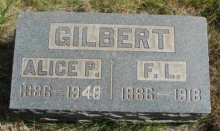 GILBERT, F L - Linn County, Oregon | F L GILBERT - Oregon Gravestone Photos