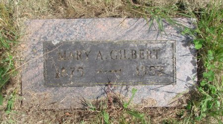 GILBERT, MARY A - Linn County, Oregon | MARY A GILBERT - Oregon Gravestone Photos