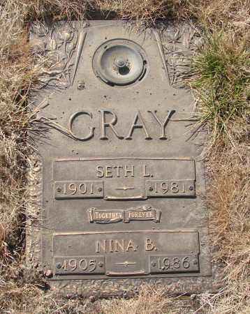 GRAY, SETH L - Linn County, Oregon | SETH L GRAY - Oregon Gravestone Photos