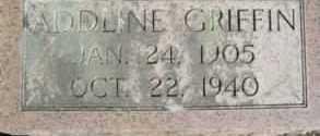 GRIFFIN, ADDLINE - Linn County, Oregon   ADDLINE GRIFFIN - Oregon Gravestone Photos