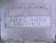 HARRIS, EZRA G. - Linn County, Oregon | EZRA G. HARRIS - Oregon Gravestone Photos