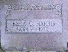 HARRIS, EZRA G. - Linn County, Oregon | EZRA G. HARRIS - Oregon Gravestone Photos