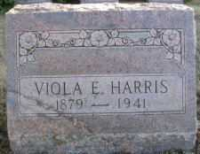 HARRIS, VIOLA E. - Linn County, Oregon | VIOLA E. HARRIS - Oregon Gravestone Photos