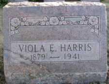 HARRIS, VIOLA E. - Linn County, Oregon | VIOLA E. HARRIS - Oregon Gravestone Photos