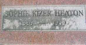 KIZER HEATON, SOPHIE - Linn County, Oregon | SOPHIE KIZER HEATON - Oregon Gravestone Photos