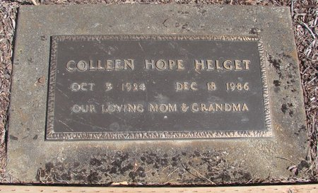 HELGET, COLLEEN HOPE - Linn County, Oregon | COLLEEN HOPE HELGET - Oregon Gravestone Photos