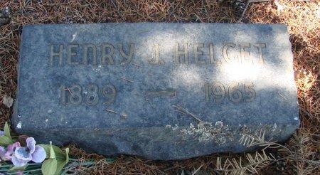 HELGET, HENRY J - Linn County, Oregon | HENRY J HELGET - Oregon Gravestone Photos
