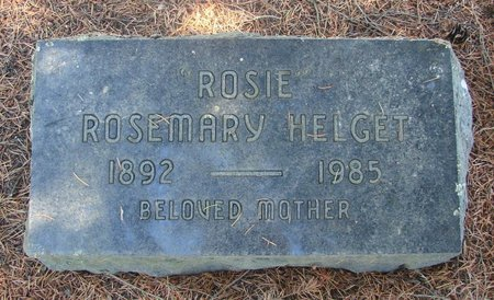 HELGET, ROSEMARY - Linn County, Oregon | ROSEMARY HELGET - Oregon Gravestone Photos