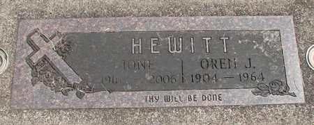 MILLER, IONE - Linn County, Oregon   IONE MILLER - Oregon Gravestone Photos