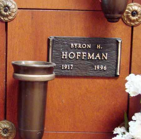HOFFMAN, BYRON HENRY - Linn County, Oregon   BYRON HENRY HOFFMAN - Oregon Gravestone Photos