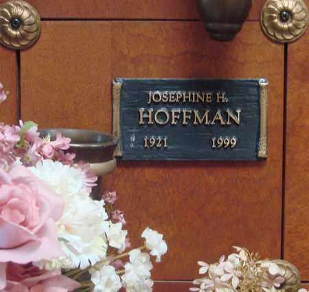 HOFFMAN, JOSEPHINE H - Linn County, Oregon | JOSEPHINE H HOFFMAN - Oregon Gravestone Photos