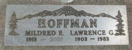HOFFMAN, MILDRED E - Linn County, Oregon | MILDRED E HOFFMAN - Oregon Gravestone Photos