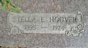 HOOVER, STELLA E. - Linn County, Oregon | STELLA E. HOOVER - Oregon Gravestone Photos