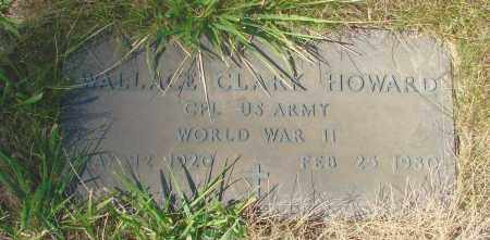 HOWARD (WWII), WALLACE CLARK - Linn County, Oregon | WALLACE CLARK HOWARD (WWII) - Oregon Gravestone Photos