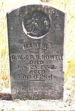 HOWELL, MARY - Linn County, Oregon   MARY HOWELL - Oregon Gravestone Photos