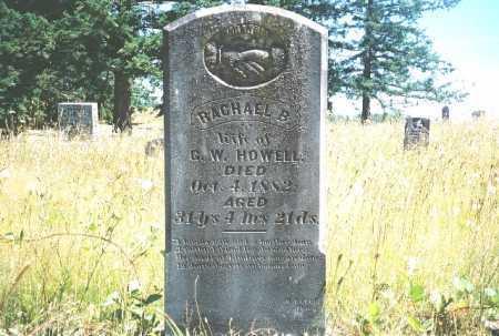 HOWELL, RACHEAL - Linn County, Oregon   RACHEAL HOWELL - Oregon Gravestone Photos