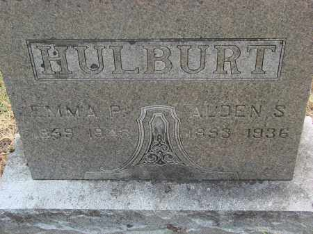 UNDERHILL HULBERT, EMMA P - Linn County, Oregon | EMMA P UNDERHILL HULBERT - Oregon Gravestone Photos