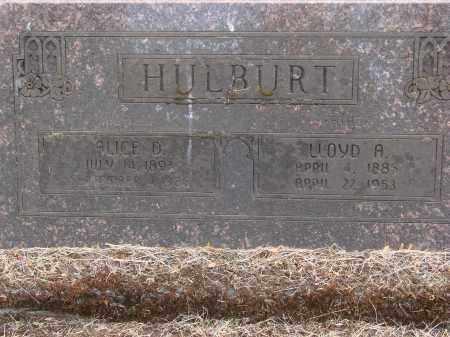 FOSTER HULBURT, ALICE DILLY - Linn County, Oregon | ALICE DILLY FOSTER HULBURT - Oregon Gravestone Photos