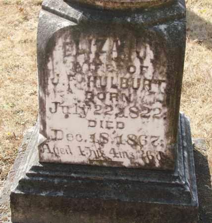 HITE HULBURT, ELIZA J - Linn County, Oregon | ELIZA J HITE HULBURT - Oregon Gravestone Photos